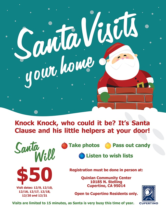 Santa Visits Your Home poster