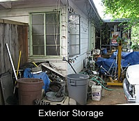 Exterior Storage Blight
