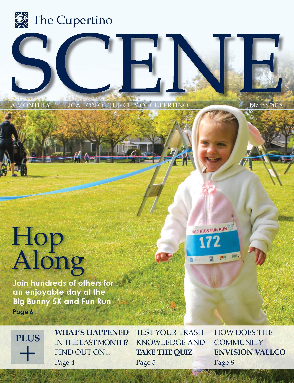 Cover Page Of March Cupertino Scene