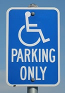 Parking Sign - Handicap Parking