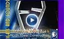 Mary Ave Bridge North Tower Construction Video