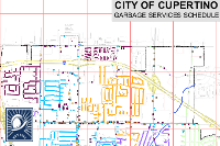 Garbage Collection Schedule Map image