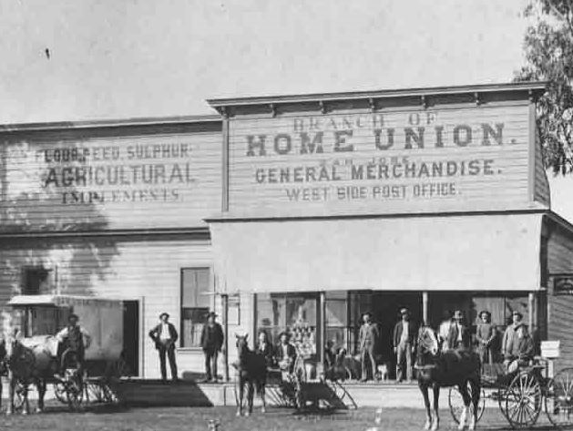 Home Union Store. Courtesy of Cupertino Historical Society.