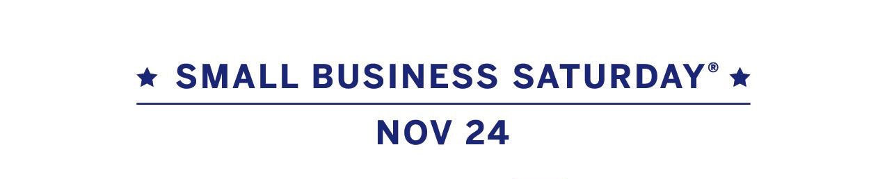 small business saturday header